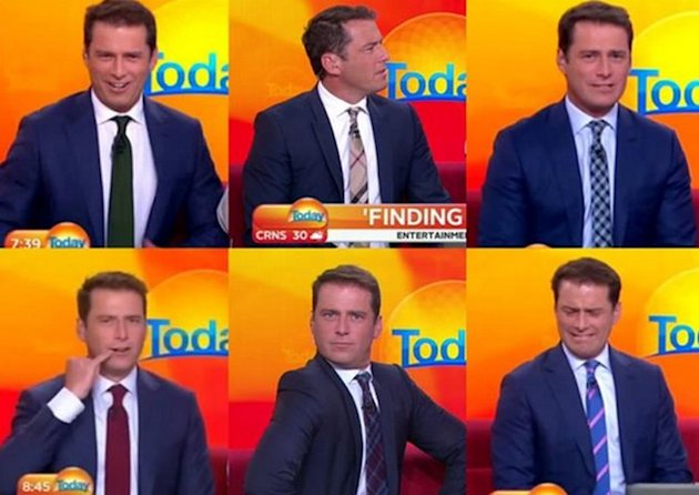 Karl Stefanovic Wears The Same Suit For An Entire Year To Prove Sexism Point [Video] image karl stefanovic2