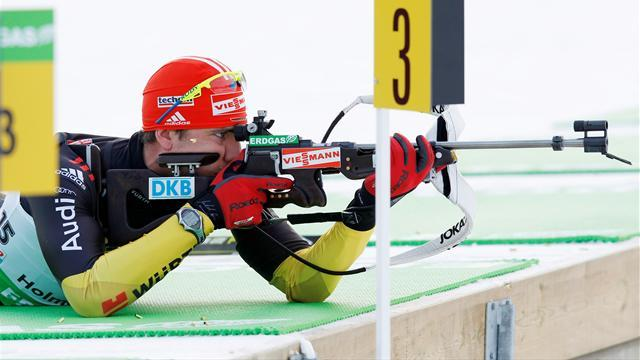 Biathlon - Perfect shooting helps Peiffer win