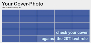 Easily Calculate If Your Facebook Cover Image Meets The 20% Text Rule image cover image checker 3 550x261