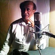 Rajinikanth Completes First Half Of The Dubbing For 'Kochadaiyaan' In One Day!