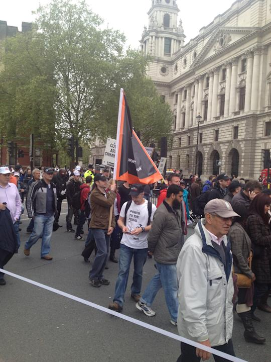 March against police cuts