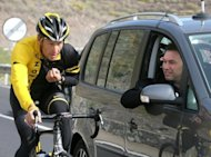 Sponsors Nike and Anheuser-Busch dumped endorsement deals with Lance Armstrong, pictured in 2008, on Wednesday as the doping-disgraced US cyclist stepped down as chairman of the Livestrong anti-cancer charity he founded