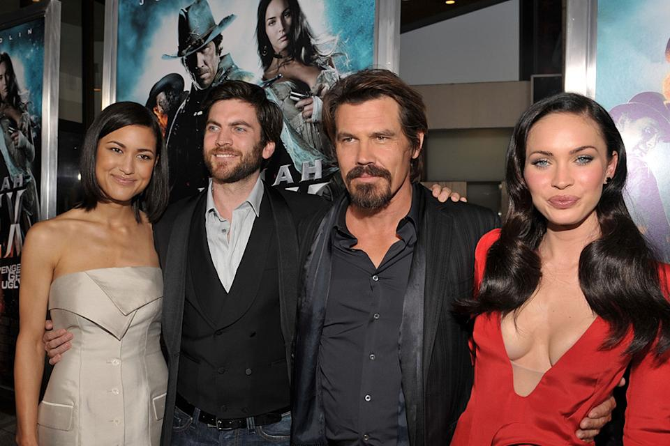 Jonah Hex LA Premiere 2010 Julia Jones Wes Bentley Josh Brolin Megan Fox