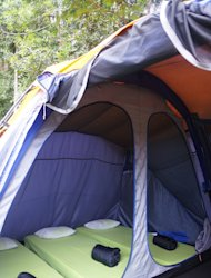 A five-star camping experience at Tanakita