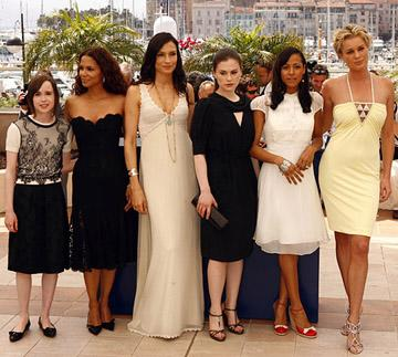 "Ellen Page, Halle Berry, Famke Janssen, Anna Paquin, Dania Ramirez and Rebecca Romijn ""X-Men: The Last Stand"" Photocall - 5/22/2006 2006 Cannes Film Festival"