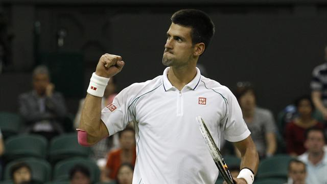 Wimbledon - Djokovic wins late night Wimbledon clash
