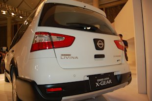 All-New Nissan Livina X-Gear - Rearside