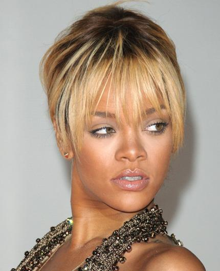 Celebrity hair: We can't keep up with colour chameleon Rihanna who is currently sporting blonde locks, and it looks like her bank balance won't be able to either! RiRi hires the help of stylist Ursula
