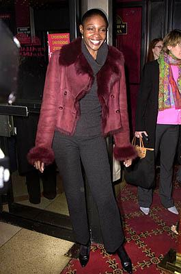 Roshumba Williams at the New York premiere of Miramax's Bridget Jones's Diary
