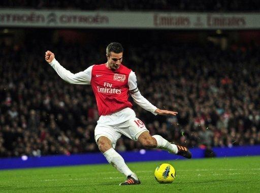 Robin van Persie announced earlier this month that he would refuse to sign a new deal with the Gunners