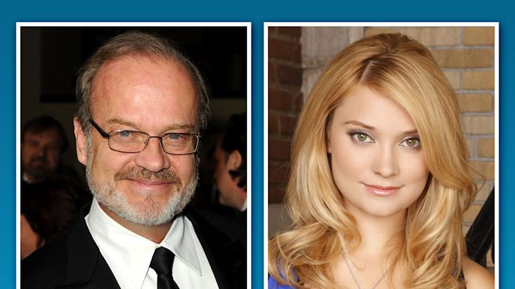 Kelsey Grammer and Spencer Grammer