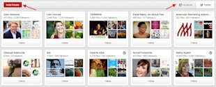 20 Pinterest Tricks And Tips You Might Not Have Discovered image Begin Following People on Pinterest