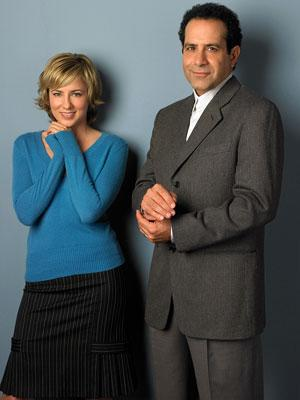 Traylor Howard and Tony Shalhoub USA Network's Monk