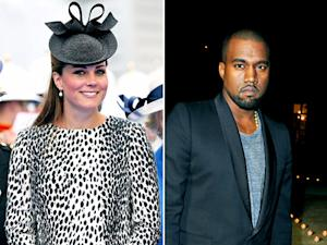 Kate Middleton Wears a Dalmatian Print Coat, Kanye West's 7 Most Obnoxious Quotes: Top 5 Stories