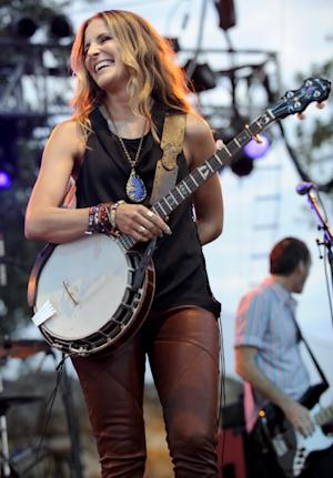 Emily Robison of the Court Yard Hounds performs as part of the Austin City Limits Music Festival Day Two at Zilker Park on September 17, 2011 -- Getty Images