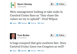 When a Brand Crisis Hits the Headlines – How Deep Is Its Impact? image Carnival Brand Crisis Tweets