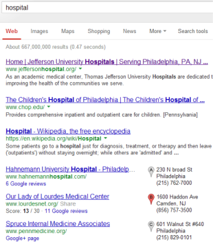 Not Optimizing for Local Search? You're Missing Out. image SearchResults