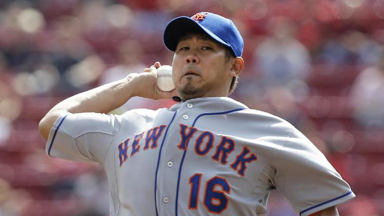 Matsuzaka pitches Mets to 1-0 win over Reds