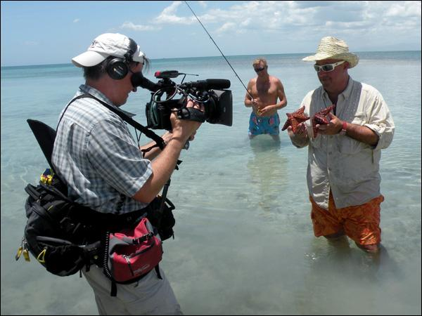 "A scene from ""Andrew Zimmern's Bizarre World"""
