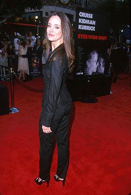 Madeleine Stowe at the LA premiere for Eyes Wide Shut Photo by Jeff Vespa/Wireimage.com