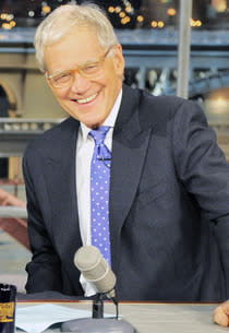 David Letterman | Photo Credits: John Paul Filo/CBS