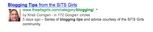 Marketing Skills: Writing a Good Meta Description image SITS girls