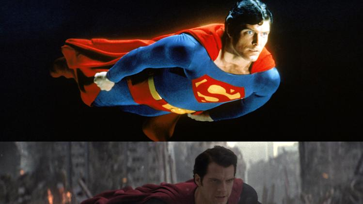 Superman Then & Now