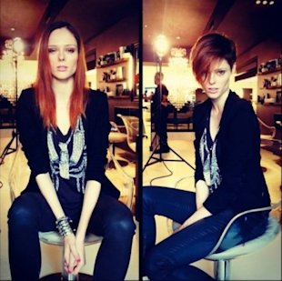 Coco Rocha's New Haircut