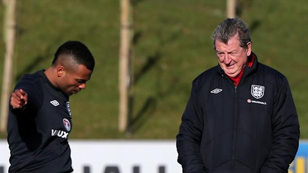 Ashley Cole, left, will become the seventh England player to reach 100 caps on Wednesday