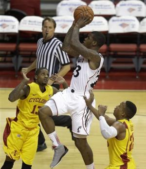 No. 22 Cincinnati tops Iowa State 78-70