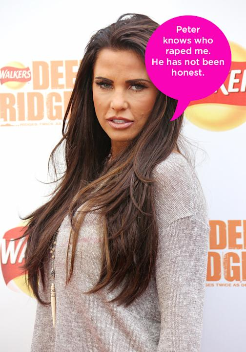 Celebrity quotes: Katie Price launched legal action against her ex husband Peter Andre this week, saying he leaked private information. She's also said that he damaged her reputation by denying that h