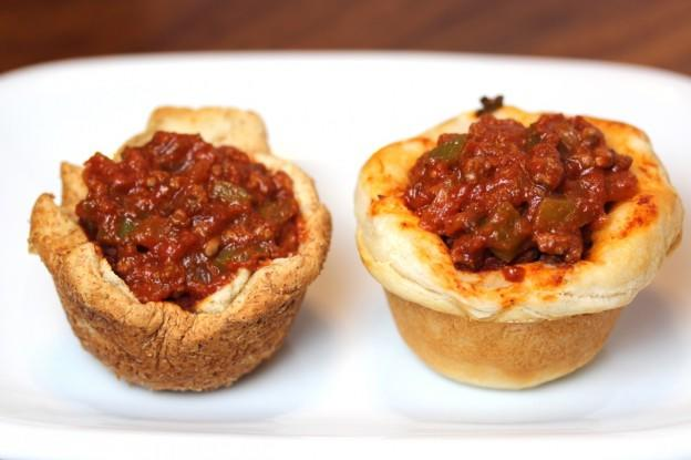 Sloppy Joe Muffin Cups 2 Ways