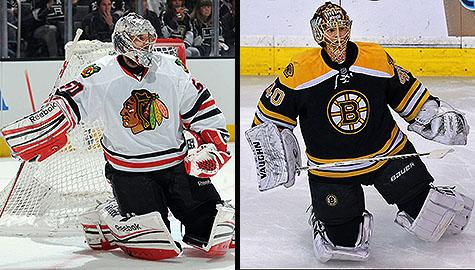 Stanley Cup Final: Chicago Blackhawks goalie Corey Crawford vs. Boston Bruins goalie Tuukka Rask