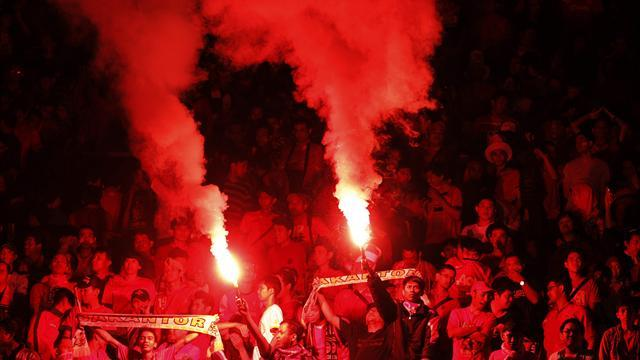 Asian Football - Indonesia hit with fine for crowd trouble
