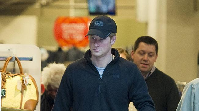 Prince Harry Shopping TK Maxx