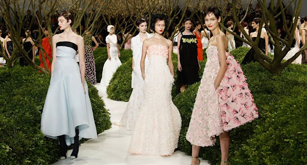 Paris Haute Couture Fashion Week: Susannah Frankel's Report On Dior's Spring 2013 Show