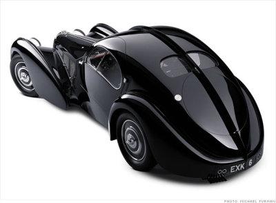 1938 Bugatti 57 SC Atlantic Coupe