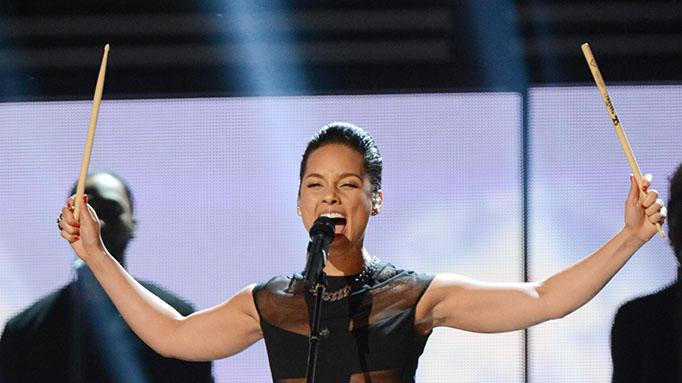 The 55th Annual GRAMMY Awards - Show: Alicia Keys