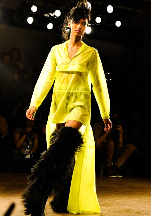 NYFW Aw13: jeremy scott fur