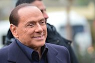 Italian former prime minister and owner of the AC Milan football team, Silvio Berlusconi, arrives at the AC Milan training grounds in Milanello. Berlusconi has ended weeks of speculation by announcing he will again run for the job of prime minister, which he was forced out of last year.