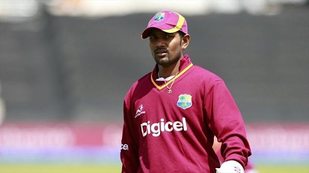 Denesh Ramdin has accepted his two-match ban