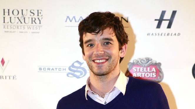 "Michael Urie from the film ""He's Way More Famous than You"" is seen at Resorts West House of Luxury, on Sunday, Jan. 20, 2013, in Park City, Utah. (Photo by PHOTOGRAPHER NAME/Invision for CLIENT NAME/AP Images)"