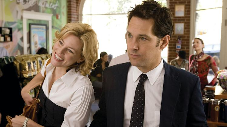 Elizabeth Banks Paul Rudd Role Models Production Stills Universal 2008