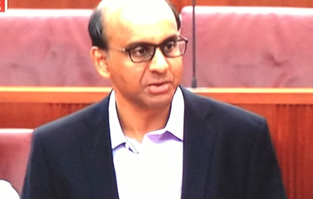 DPM Tharman gave his Budget speech in Parliament on Monday