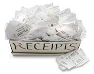 10 Small Business Tax Tips image receipts
