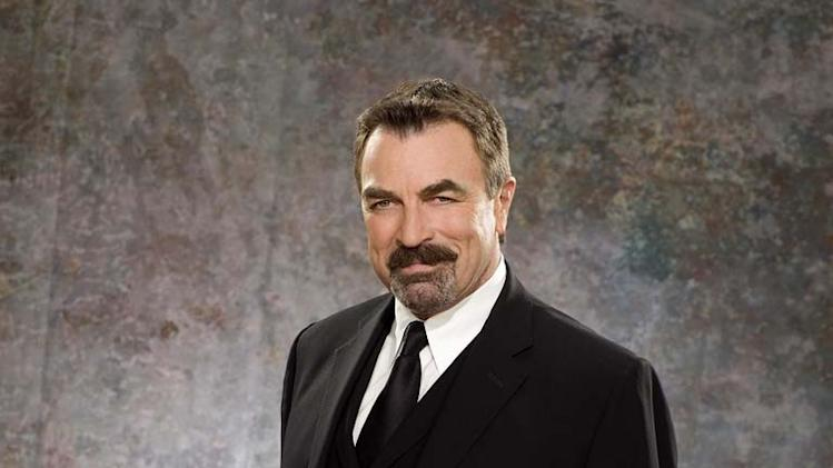 Tom Selleck stars as A.J. Cooper on Las Vegas.