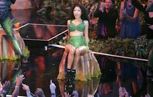 Nicki Minaj performs at the MTV Video Music Awards …