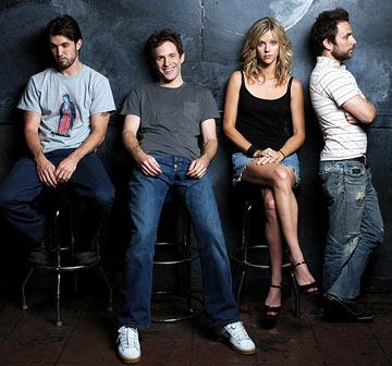 Rob McElhenney, Glenn Howerton, Kaitlin Olson and Charlie Day FX's It's Always Sunny in Philadephia