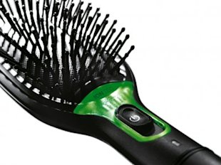 The Braun Satin Hair brush, photo courtesy of Braun