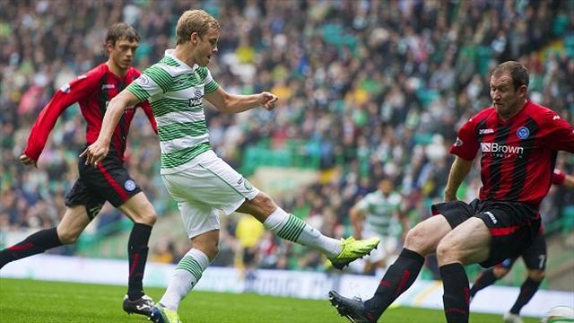Scottish Premiership - Pukki goal seals Celtic win